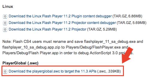 adobe flash builder debugger download
